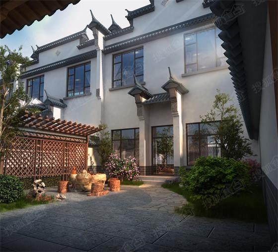 小院设计新中式