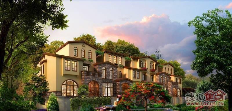 [万通龙山逸墅]怀柔联排别墅总价420万元送花园
