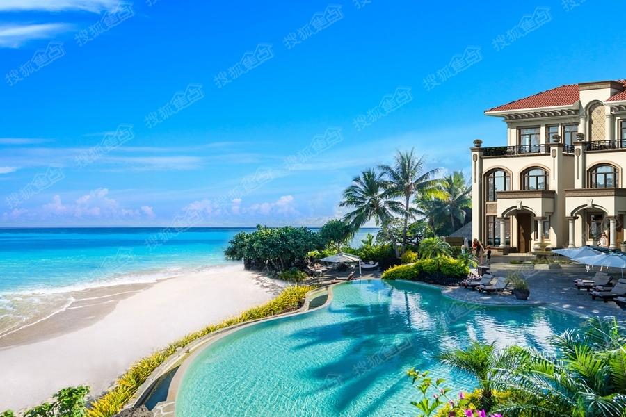 [海南恒大海花岛]儋州人工岛正在建造中