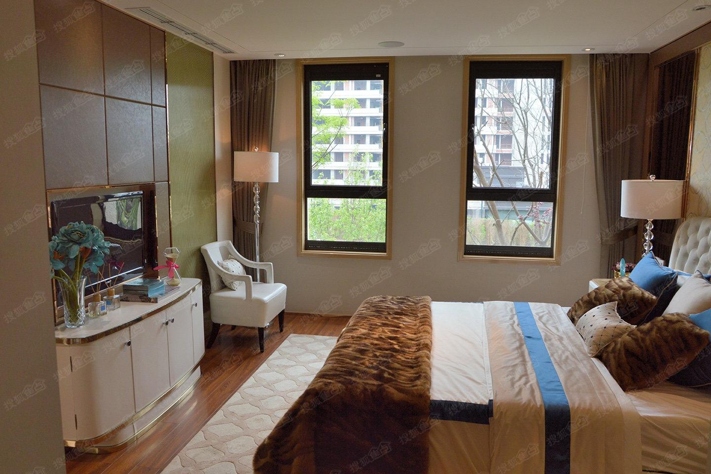鲁能城中央公馆别墅c3户型套内110.99㎡样板间—卧室