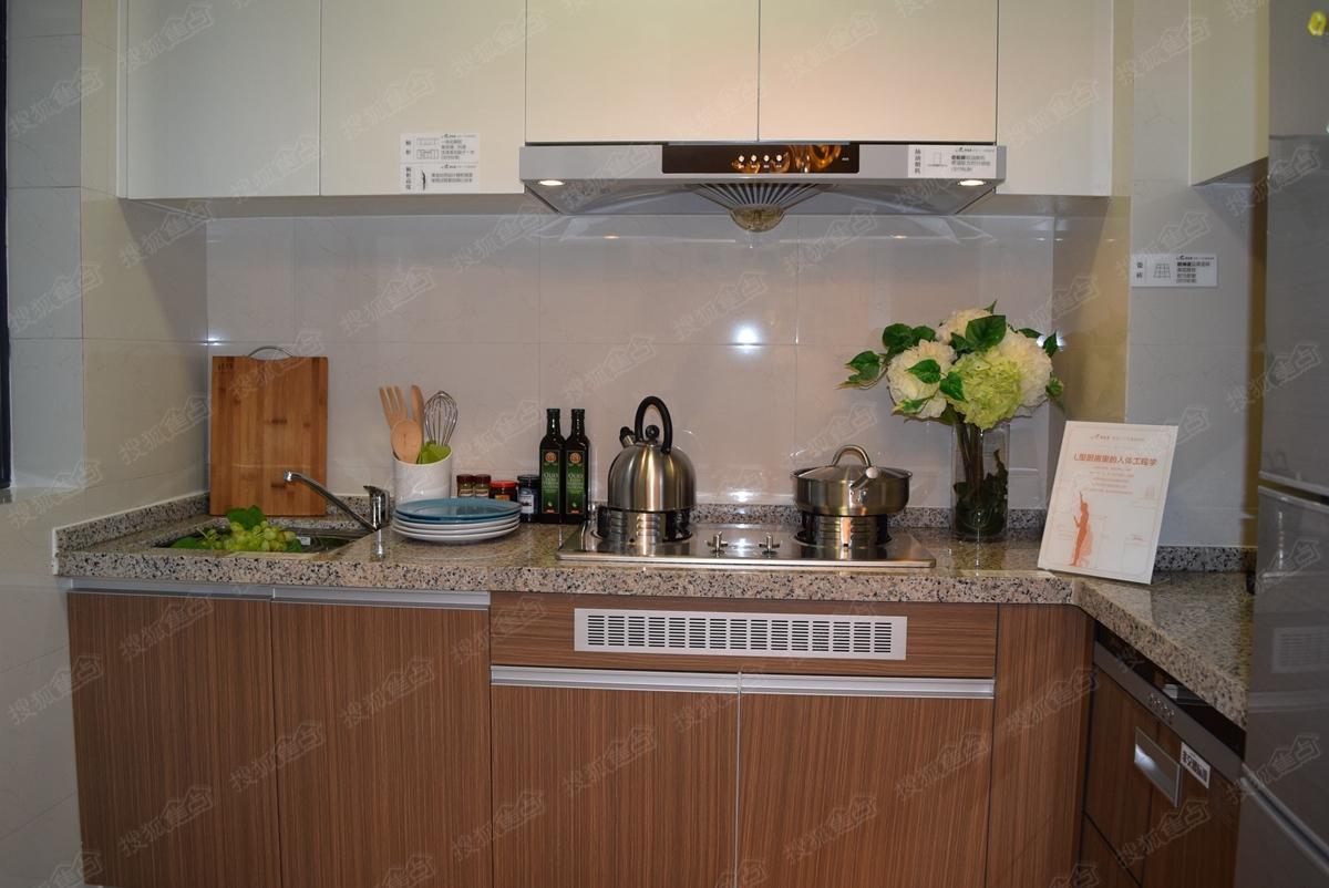 碧桂园天汇y16501/02户型样板间—厨房