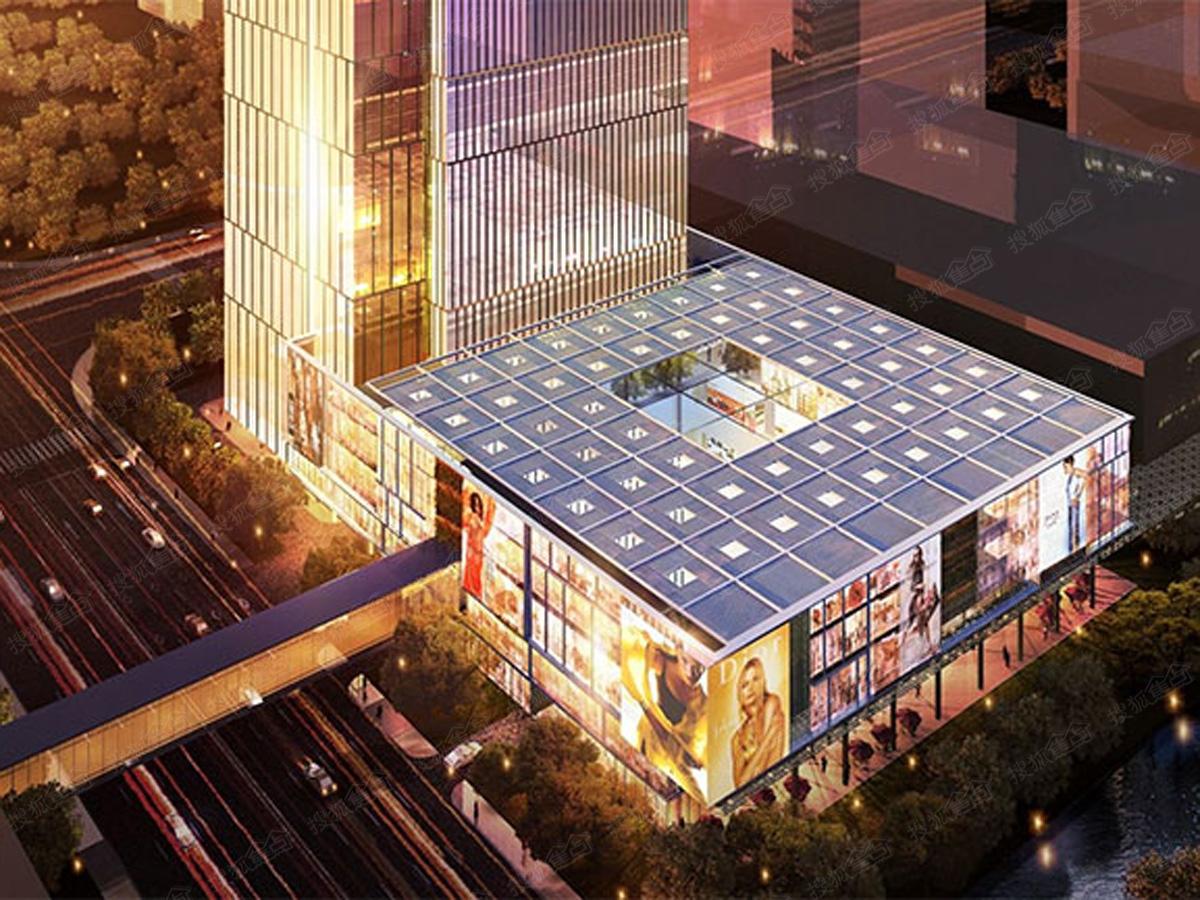 金融城绿地中心的太原别墅区图片