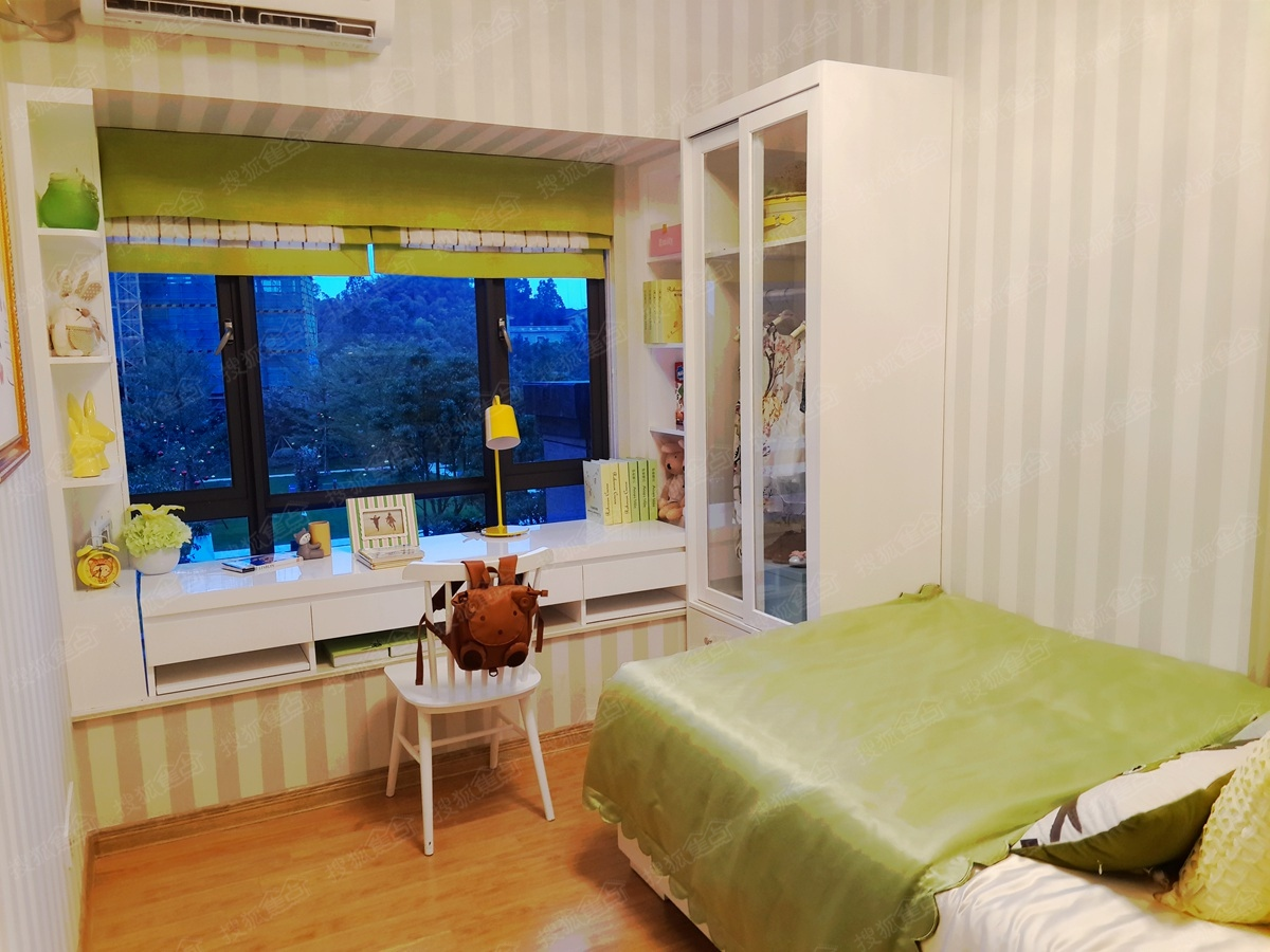 碧桂园映象y18904户型样板房-儿童房