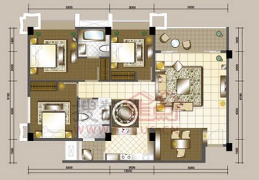 四房两厅两卫131