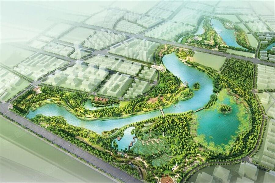 海口市凤翔公园规划图