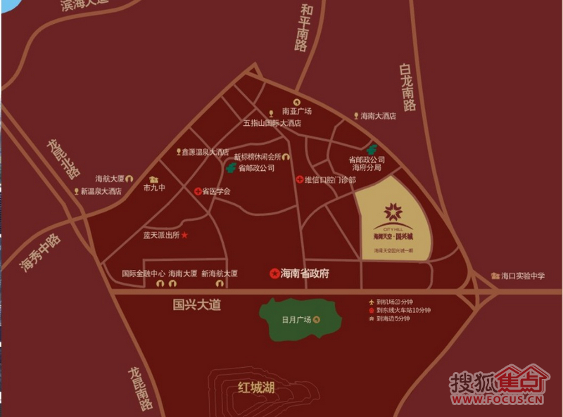 秦皇岛地图兴城