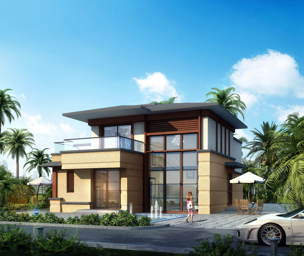 130㎡两层联排联排别墅,目前240万一套,168㎡独栋别墅340万一套项目