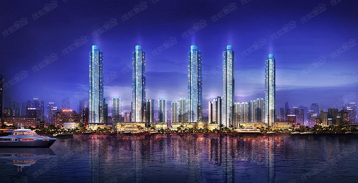 柳州夜景素材免费下载