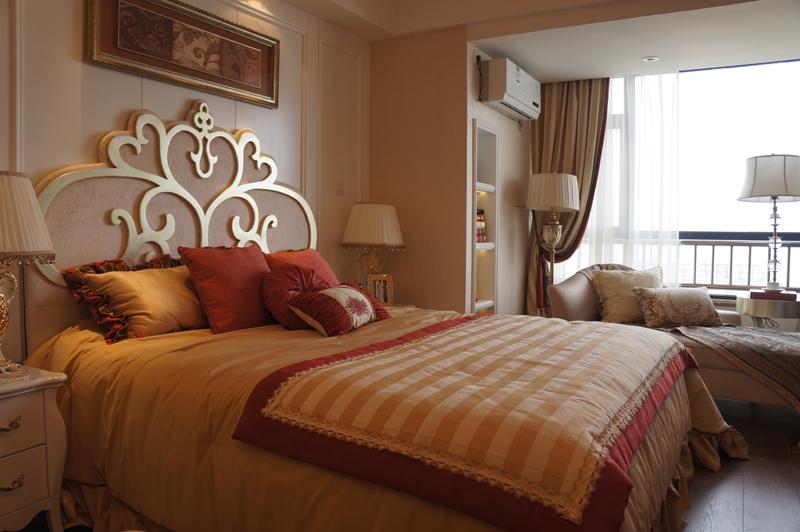 万达·青岛东方影都精装样板间图之卧室