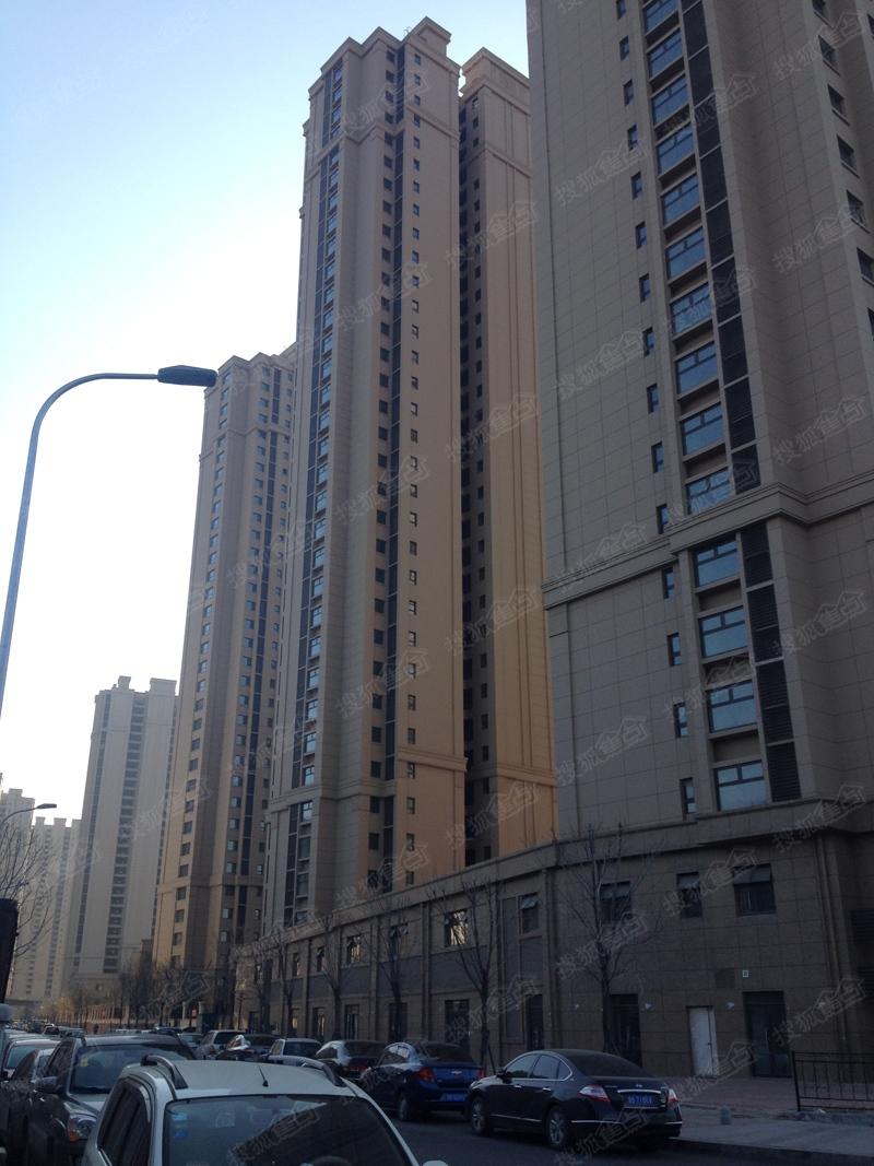 中海国际社区·御城施工进度图(2014年12月17日)