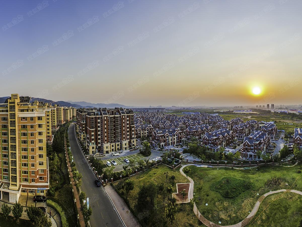 千禧国际村二期整体施工进度图(2016.5)-青岛搜狐焦点