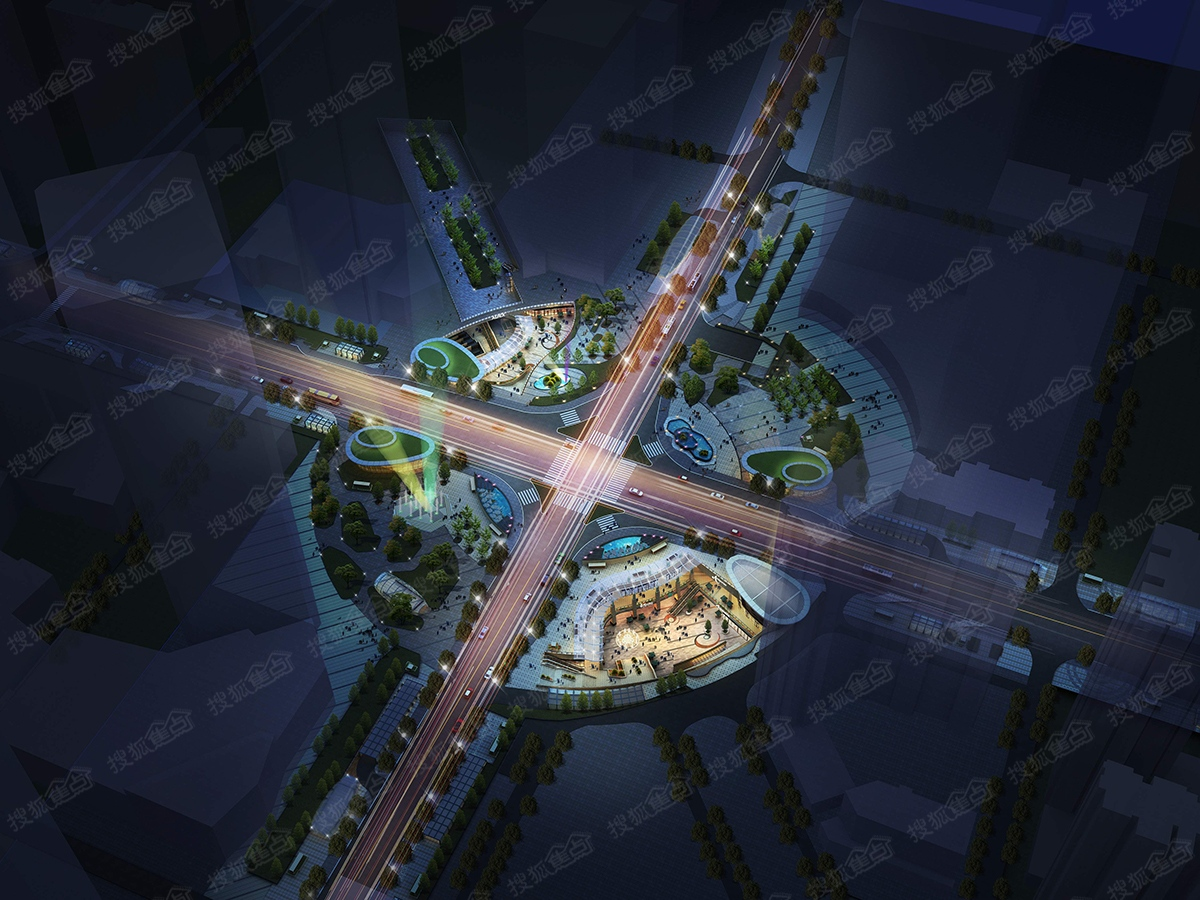 青岛中央广场