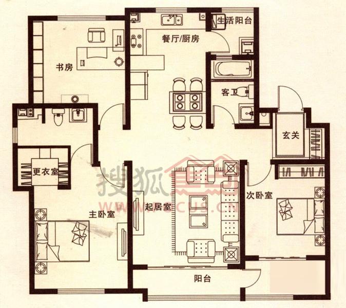 60平方米二层楼设计图