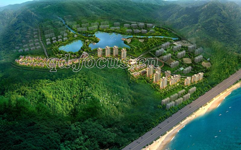 海信·依云小镇全景鸟瞰图-青岛搜狐焦点网