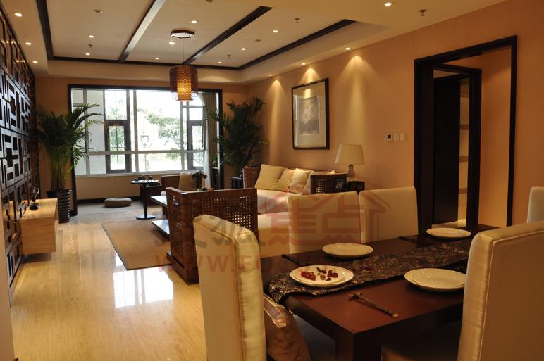 富立秦皇半岛138平米a2户型餐厅