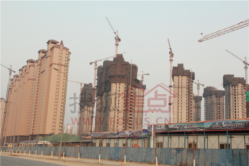 金屋秦皇半岛一区进度图20140219-北京搜狐焦点网