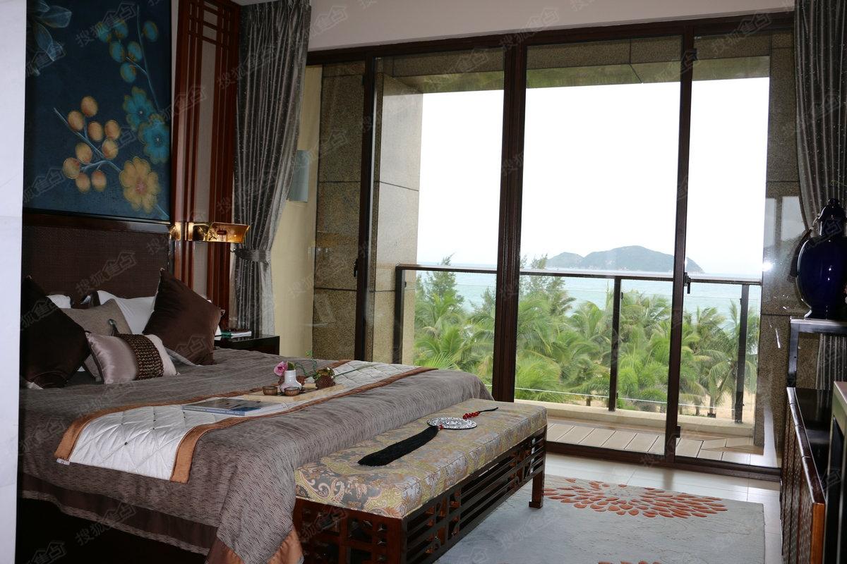 中海神州半岛泰悦居e户型样板间—卧室