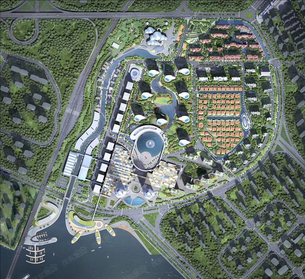 西青华侨城规划汇报图分享展示