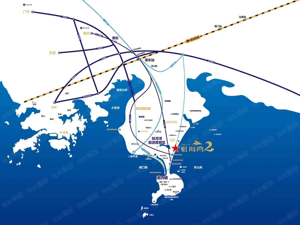 新西兰海湾地图