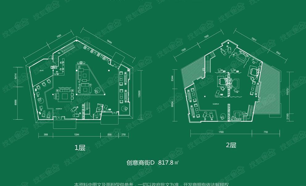 创意天地一居室d_创意天地户型图-武汉搜狐焦点网图片