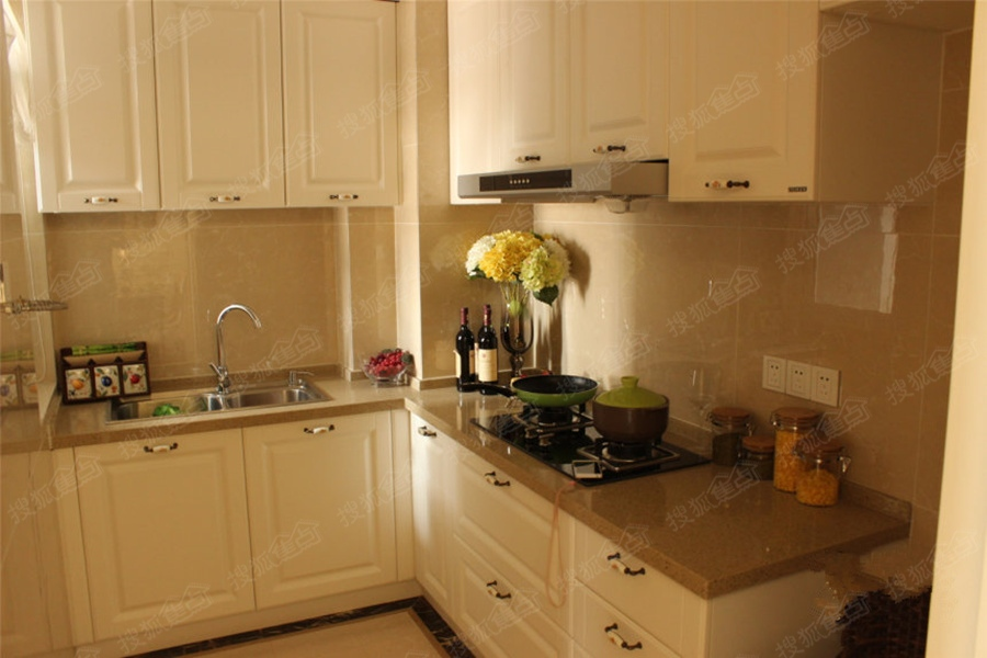 天纵城c户型样板间-厨房