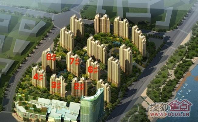 世界级【华仑港湾】享一线长江城市水岸