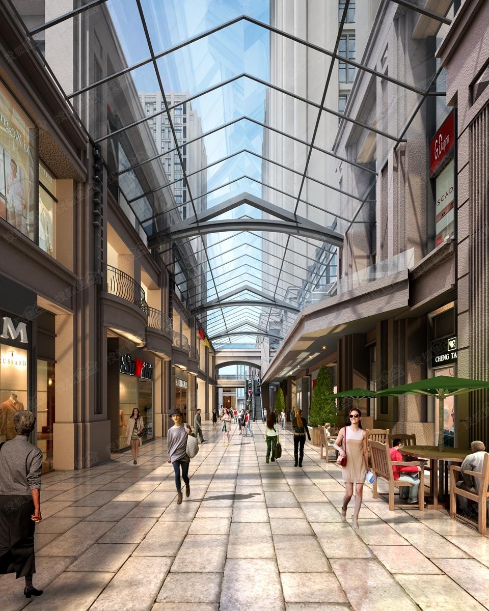 商业广场入口内容商业广场入口版面设计