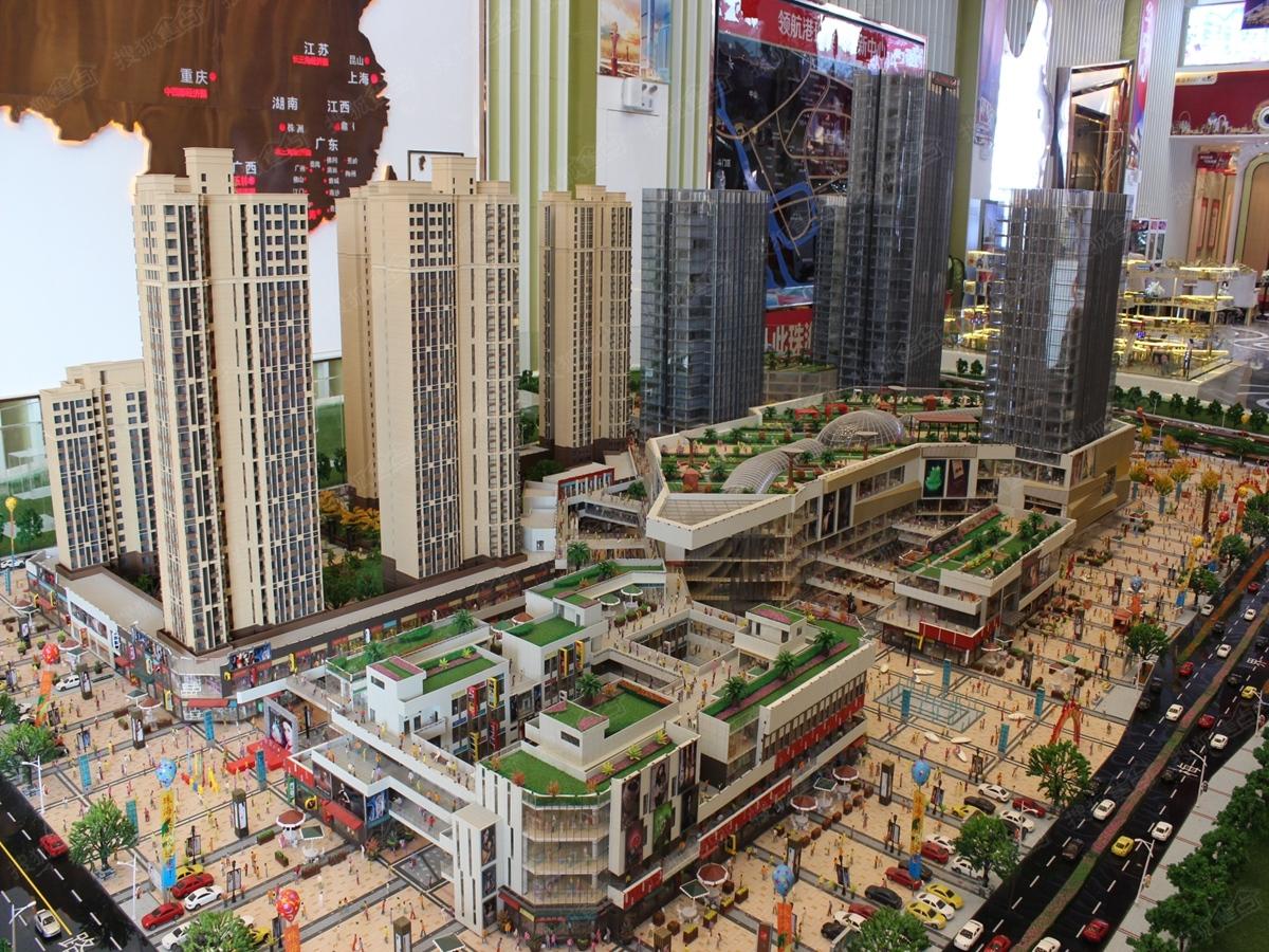 珠海奥园广场整体沙盘规划图