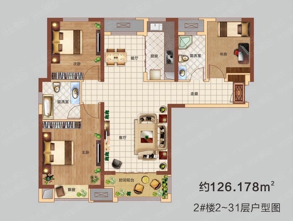 广州塔平面图展示
